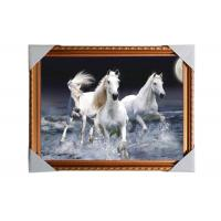 3D Art Custom Lenticular Printing Pictures Offset Print PS Frame For Home Decorative Manufactures