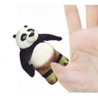 4 inch Fashon Kungfu Panda Plush Finger Puppets Kids Finger Puppets Manufactures