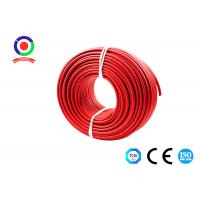 UV Resistance 16mm2 Single Core Solar Cable 9.2mm OD Dual Insulated Manufactures