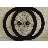 T700 High Strength Carbon Track Wheelset With Bladed Spokes Long Service Life Manufactures