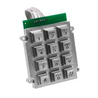 Buy cheap Metal Waterproof Door Phone Keypad Corrosion Resistance Includes 7 Pin Connector from wholesalers