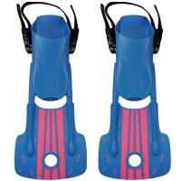 Kids Scuba Diving Fins Short Adjustable With Snorkeling Open Heel Manufactures
