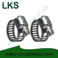 China Small American Type Hose Clamps on sale