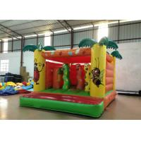 Indoor Playground Kids Inflatable Bounce House 4 X 3.5m 0.55mm Pvc Tarpaulin Nontoxic Manufactures