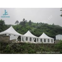 China Aluminum Frame 8x8 Gazebo Canopy Tents , Outdoor High Peak Tents For Restaurant on sale