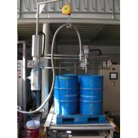 Barrel Pallet Filling Machine For 500L Engine Oil Manufactures
