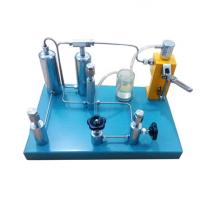 Hydraulic oxygen gas pressure gauge calibrator calibration standard pressure gauge calibration machine Manufactures