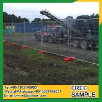 Banana Galvanized construction site even temporary fencing Manufactures