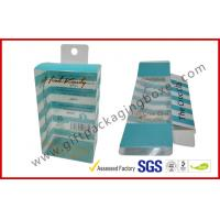 PETG / PVC Plastic Clamshell Packaging box with hanger , plastic gift boxes Manufactures