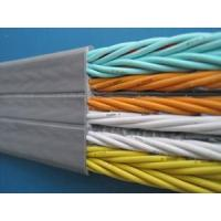 CE elevator cable ,flat elevator cable Manufactures