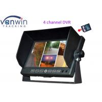 Car 7 inches 4CH TFT LCD Monitor DVR recording Quad Image With support 32G Manufactures