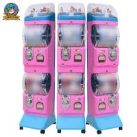 China ABS Commercial Gumball Machine , Sweet Vending Machine 300*400*1400mm on sale