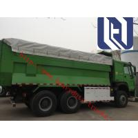 Oil Saving 40 - 50T 10 Wheeler Dump Truck Middle Or Front Lifting Type Manufactures