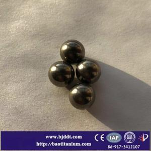 China Titanium Ball TC4 Gr5  titanium alloy balls CNC machine good price per kg pound on sale