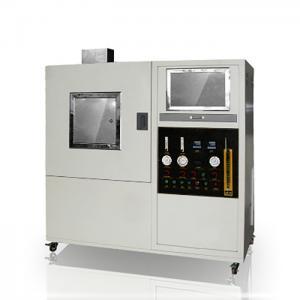 Solid Material Textile Testing Instruments Optical 170Kpa Smoke Density Meter Manufactures