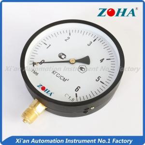 China 150mm Bottom Mounting General pressure gauge type pressure gauge on sale