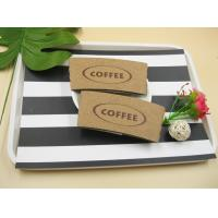 16 / 20oz Hot Coffee Paper Cup Sleeves odorless With Logo FSC Certification Manufactures