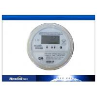 Socket Type Residential Electric Energy Meter Bi - Directional  LCD Display Prepayment Meters Manufactures