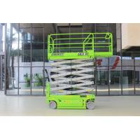 Heavy Duty Hydraulic Scissor Lift Table With 12m Aerial Working Platform Manufactures