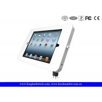 Desktop Mounted iPad / tablet kiosk stand with Metal Material Flexible Goose Neck Manufactures