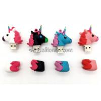 Promotional horse animal shape USB flash driver custom with 8g 16g 32g available Manufactures