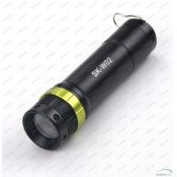 Aluminum Alloy 130Lm CREE LED Flashlight Torch With Adjustable Focus Zoom Manufactures