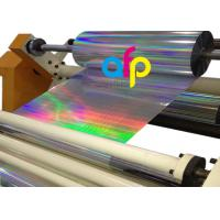 Various Patterns Laser Holographic Film Over 42dynes Both Sides Corona Treated Manufactures