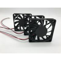 Quality 60 Mm Computer Cooling Fans Ball Bearing 12V DC Plastic Housing Low Noise for sale
