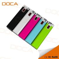 China Fast Production universal portable candy color mini power bank phone charger 2600 mAh on sale