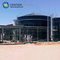 Porcelain Enamel Industrial Water Tanks With Convenient Installation Manufactures