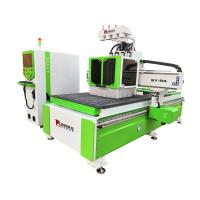 China 9 KW Air Cooling Spindle CNC Wood Cutting Machine 1300*2500*200mm AC380V/50HZ on sale