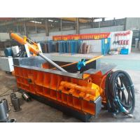 Durable Baling Press Machine , Scrap Metal Baler 125 Tons Baling Force Manufactures
