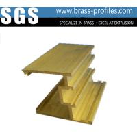 Brass C38500 Hpb58 Fabrication Of Windows / Building Copper Extrusion Section Manufactures