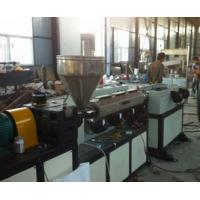 HDPE Electrical Wire Corrugated Plastic Production Line Single Screw Manufactures