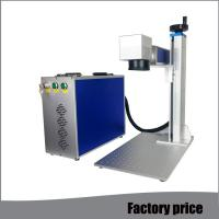 Metal Fiber Mini Laser Marking Machine EZCAD Software Low Power Consumption Manufactures
