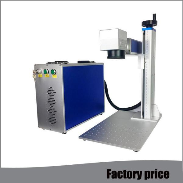 Quality Metal Fiber Mini Laser Marking Machine EZCAD Software Low Power Consumption for sale
