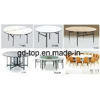 Round Dining Table / Folding Banquet Table (CT-8006) Manufactures