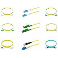 Singlemode Fiber Optic Patch Cord , Optic Patch Cord Sc Lc G657a2 2 Meters Manufactures
