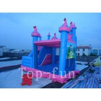 Kids Indoor or Outdoor Princess Commercial Inflatables Bouncy Castle House for Hire Manufactures