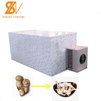China Meat Sanchi Flower Carrot Mushroom Industrial Hot Air Dryer Fungus Fish Belt Dryer on sale