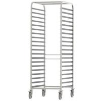 12 Tier 60x40cm Tray Stainless Steel Rack Tray Trolley / Baking Cooling Rack Trolley Manufactures