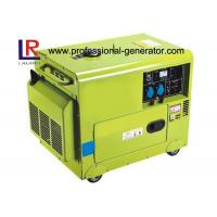 50Hz / 60Hz Electric Star 230V Silent Diesel Generator By Air - Cooled Manufactures