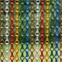 Fashional Aluminium Metal Chain Fly Screen Door Curtains And Room Dividers Manufactures
