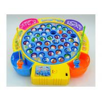 Funny Plastic Children's Play Toys Fishing Game Battery Operated With Music Manufactures