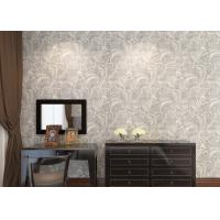 Ivory white embossed floral pattern wallpaper wall for Wallpaper for walls for sale