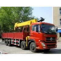 180/2200 Kw Max Power Dongfeng Used Crane Truck 6X4 Drive Mode 2013 Year Manufactures