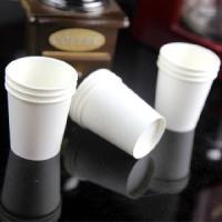 100% Biodegradable Disposable Paper Cups For Beverage SGS ISO Certificate Manufactures