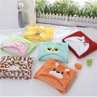 Bright Color Baby Poncho Towel Polar Fleece Blanket Swaddle For Newborn Infants And Baby Manufactures