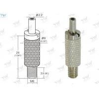 Brass Material Aircraft Cable Grippers / Wire Cable Grippers With M 6 Male Thread Manufactures