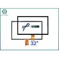 32 Inch Projected Capacitive Pcap Touch Screen With USB Controller And USB Cable Manufactures
